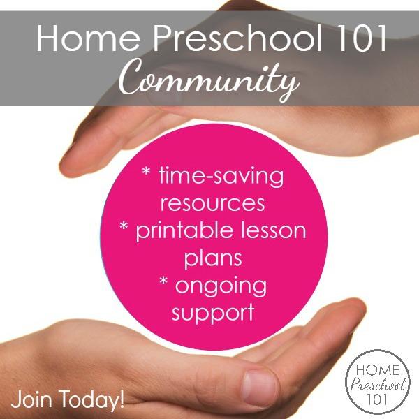 Home Preschool 101 Community Benefits