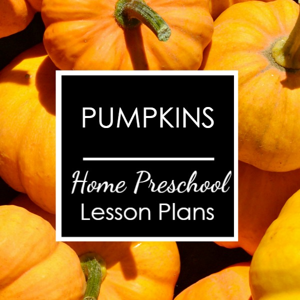 Square-Pumpkin Weekly Lesson Plans