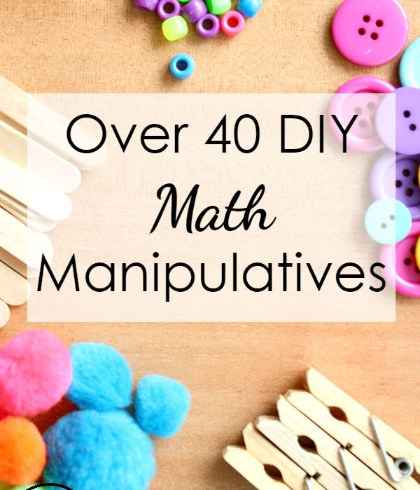 DIY Math Manipulatives Around Your Home