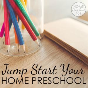 Jump Start Your Home Preschool