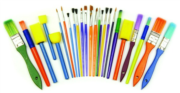 Home Preschool Supplies-Paint Brush Set