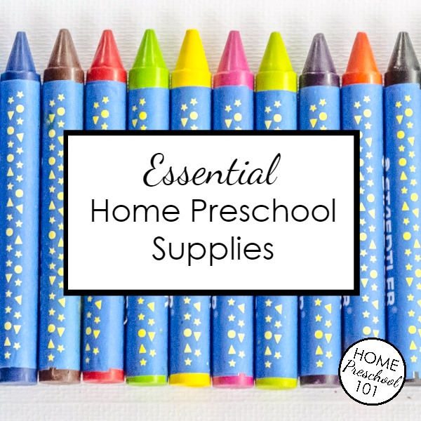 FB-Home Preschool Supplies