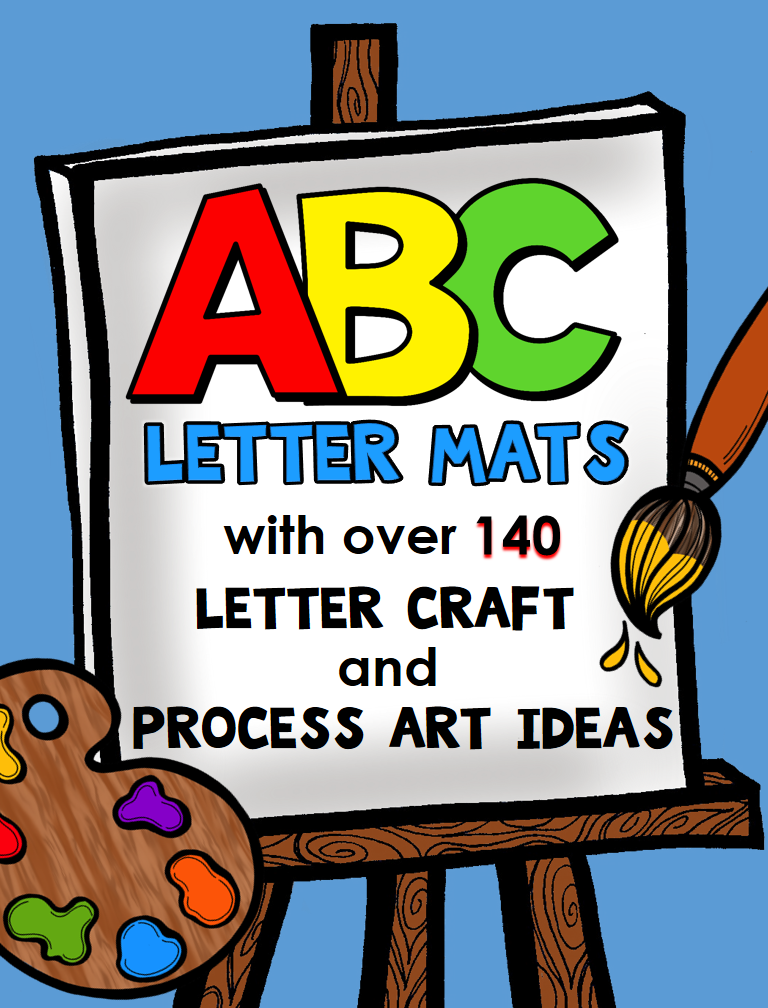 Alphabet Mats and Letter Craft Ideas