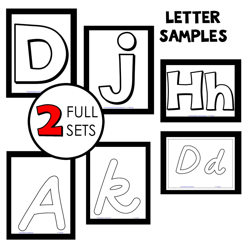 letter-font-sample-sets