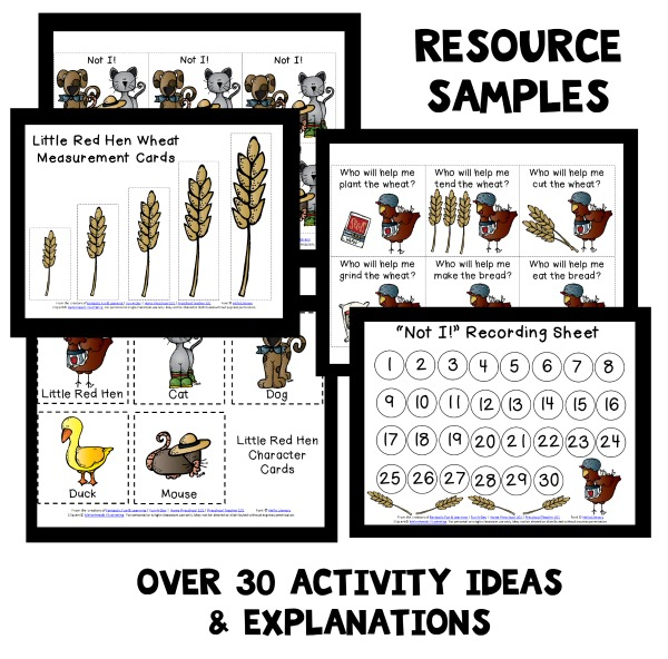 little-red-hen-resource-sample