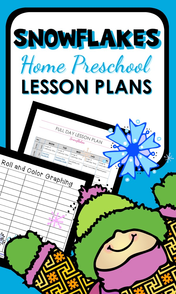 Home Preschool Winter Theme Lesson Plans-winter activities for kids