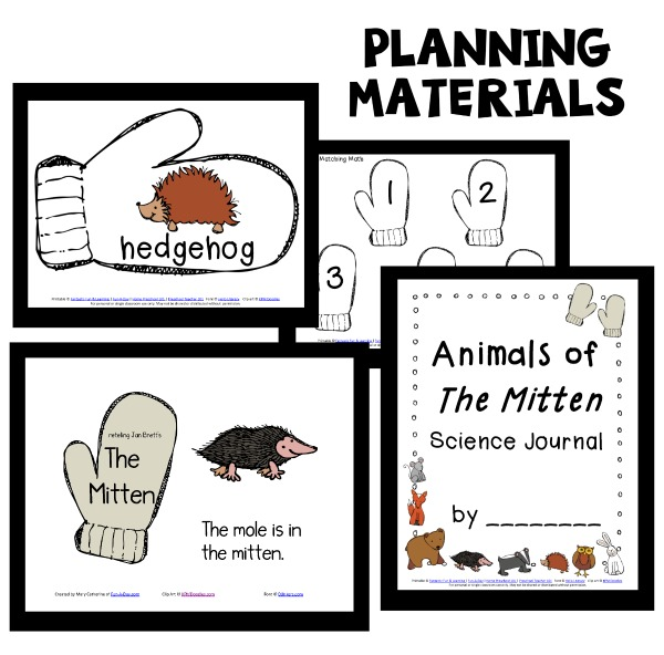 The Mitten Lesson Plan Resources