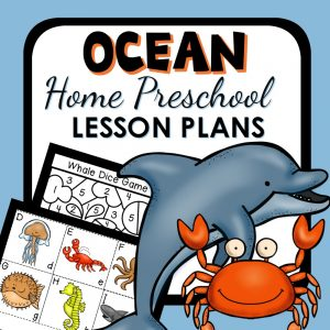 Home Preschool Ocean Theme Activities