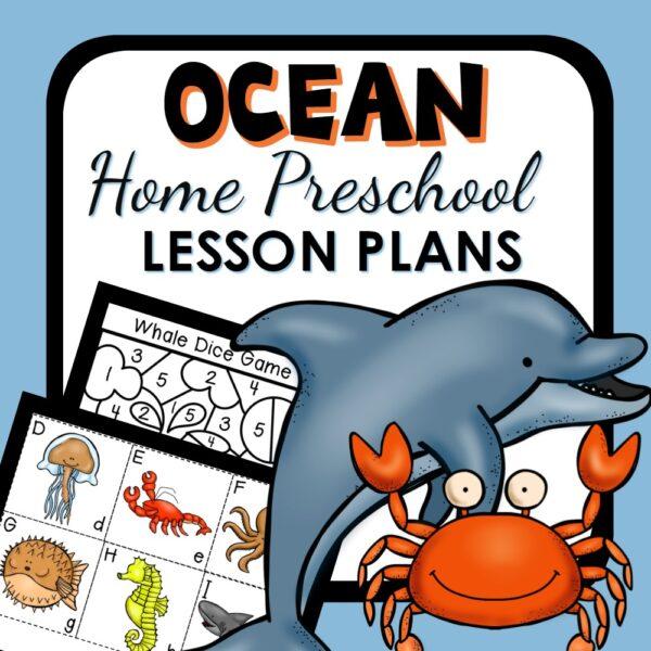 Home Preschool Ocean Theme Activities