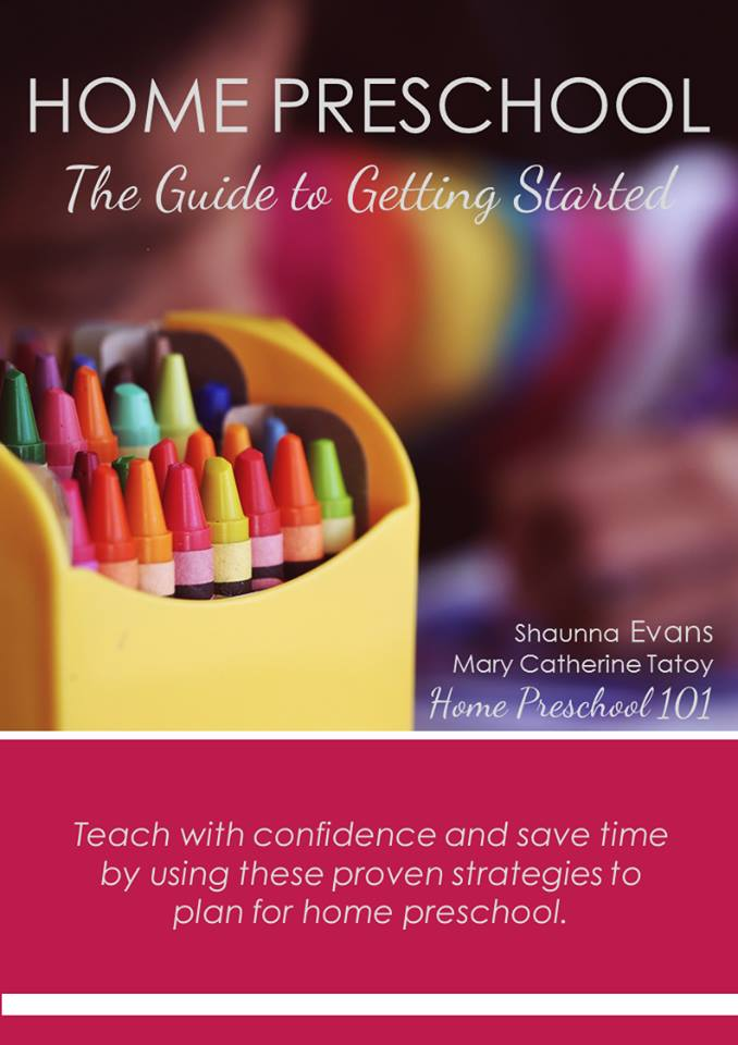 Guide to Getting Started with Home Preschool-cover